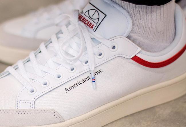 adidas,americana Low,發售  高街氣質滑板鞋!adidas Americana Low 上腳有點香!