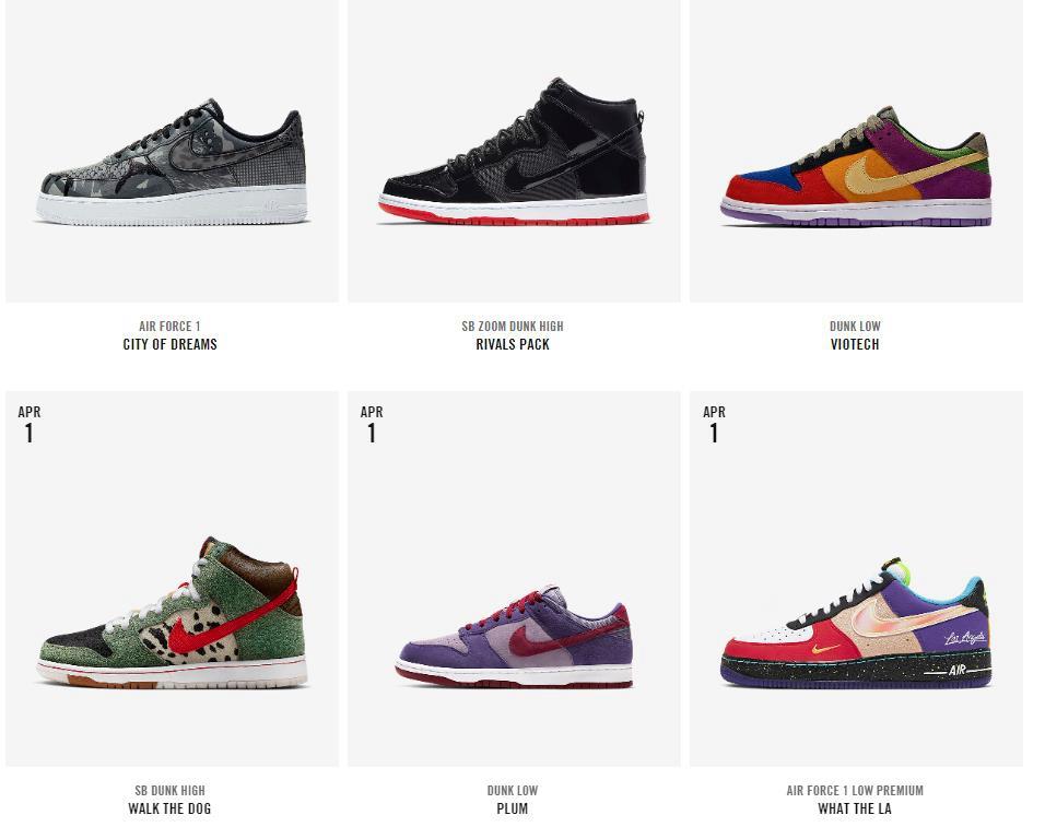 WHAT THE LA,DOG WALKER  海外多雙熱門鞋款補貨!難道是 SNKRS 開的愚人節玩笑?!