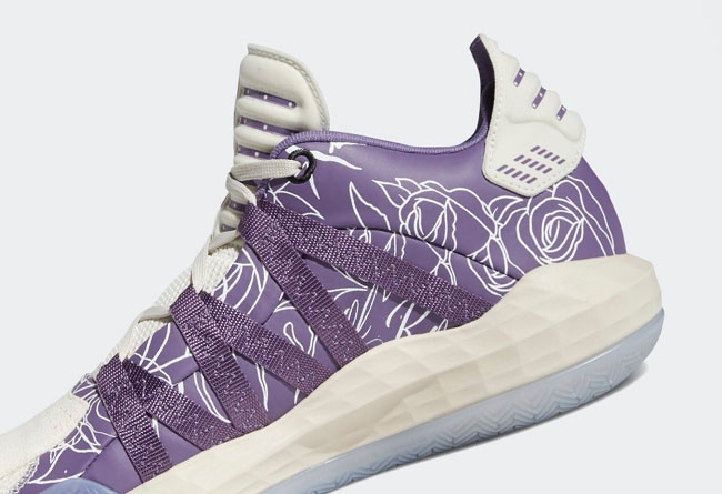 adidas,Dame 6,Weber State,FU94  致敬大學母校!紫色玫瑰 Dame 6 即將發售!