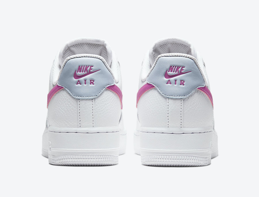 Air Force 1,AF1,Nike,发售  超醒目粉色 Swoosh!小白鞋 Air Force 1 迎来可爱升级!