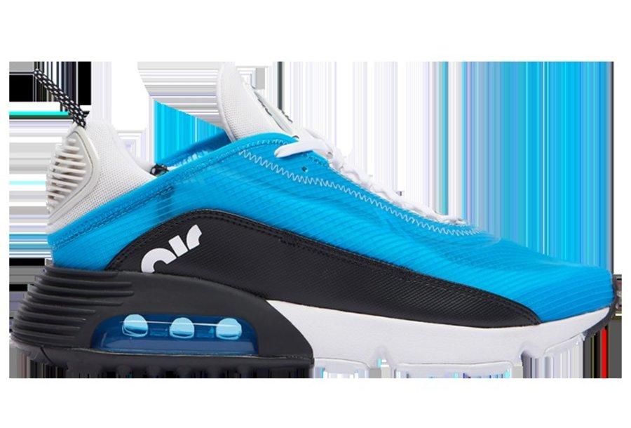 Nike,Air Max 2090,CT1091-400  白蓝配色活力十足!这双 Air Max 2090 最特别的还是 Swoosh!