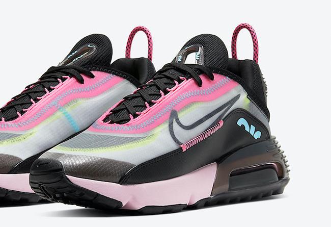 Nike,Air Max 2090,Pink Foam,CW  抢眼黑粉主题配色!这双 Air Max 2090 太想要!可是...