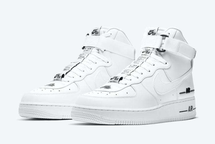 Nike,Air Force 1 High,CJ1385-1  高街气质十足!这双 Air Force 1 看起来就增高!