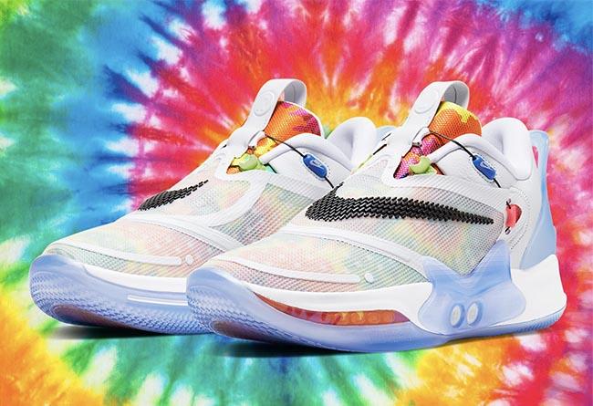 """莆田鞋-Nike Adapt BB 2.0 """"Tie Dye"""" 货号:BQ5397-100"""