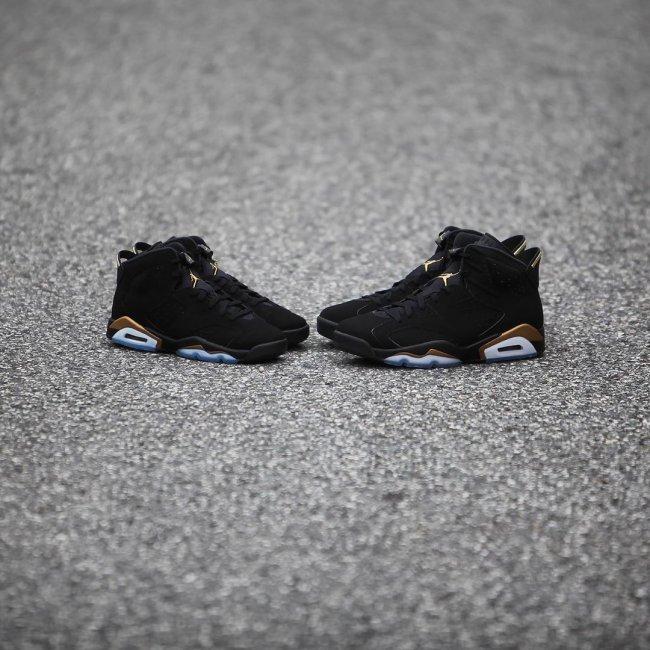 Air Jordan 6,DMP,发售,CT4954-007  天猫预告释出!黑金 Air Jordan 6 DMP 本周六发售!