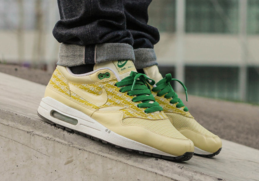 "清爽柠檬配色!Nike Air Max 1 ""Lemonade"" 今夏发售"