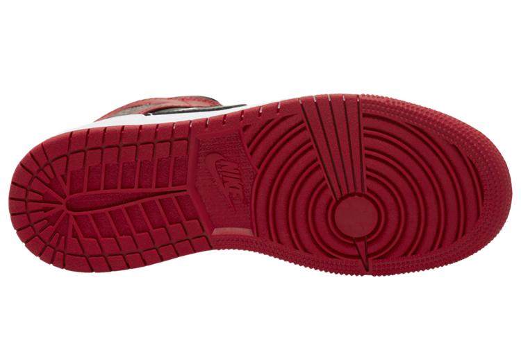 AJ,AJ1 Mid,GS,Gym Red,554725-1  「小芝加哥」配色 Air Jordan 1 Mid 即将发售!可是...