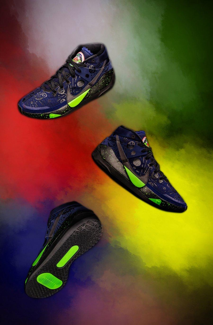 Nike,篮球之星,KD13,Kyrie 6  耐克「国内独占」抢先开箱!夜光、涂鸦超酷炫,老外边看边酸