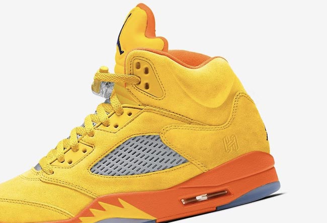 "莆田鞋-Air Jordan 5 SE ""Solar Orange"" 货号:CZ5725-700"