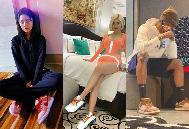 明星,上腳  近期明星上腳!想不到國內玩鞋的女明星這么多!鞋最貴的竟是她