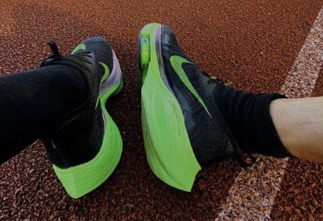 Nike Alphafly NEXT%,Nike,韓寒  韓寒上腳 Nike 未發售頂配跑鞋,成績讓人驚呼大神水平!