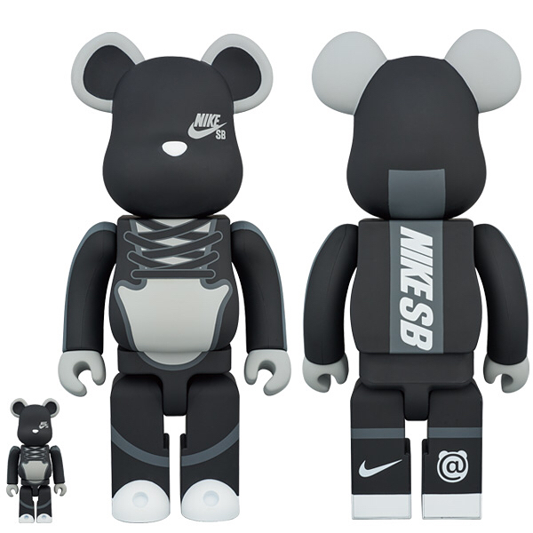 BE@RBRICK,MEDICOM TOY,Nike,Dun 积木熊 x Dunk SB 联名回归!全新配色实物首次曝光!