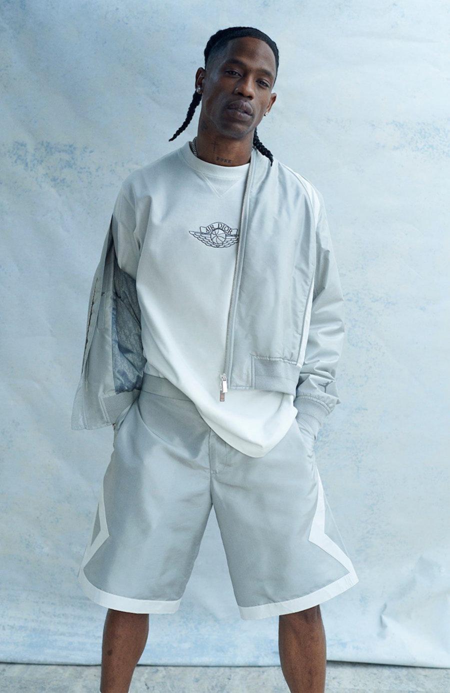 Travis,Scott,、,王俊,凱,上身,Dior,AJ  Travis Scott、王俊凱上身!Dior x AJ1 聯名服飾完整曝光!