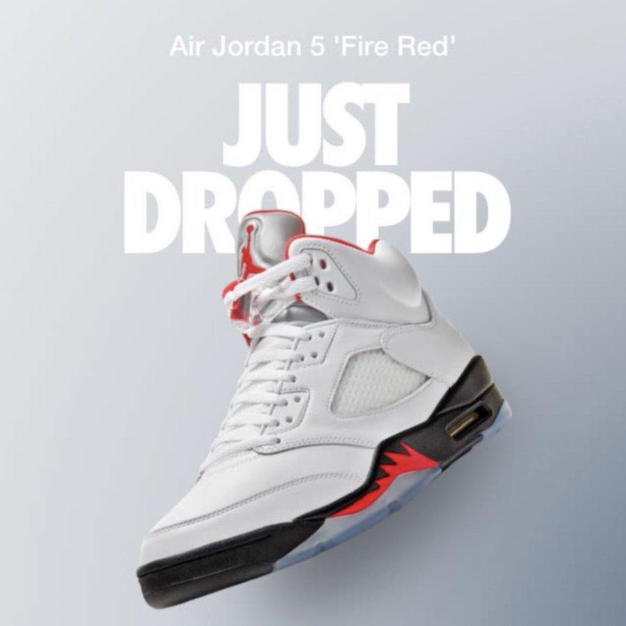 Air Jordan 5,Fire Red,DA1911-1 流川枫 Air Jordan 5 美区突袭,国内延期!5 月登场!