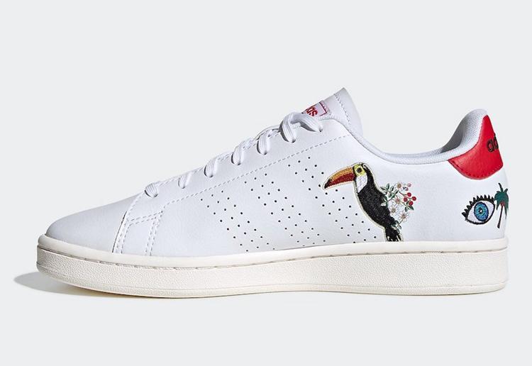 莆田鞋-FARM Rio x adidas Advantage WMNS 货英超下注平台:EH3425插图(3)