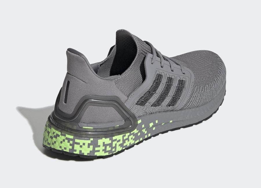 数码像素点缀!莆田鞋adidas Ultra Boost 2020 新配色即将发售