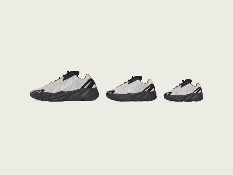 骨白莆田鞋 Yeezy 700 MNVN 国内周六发售!并非上海限定!