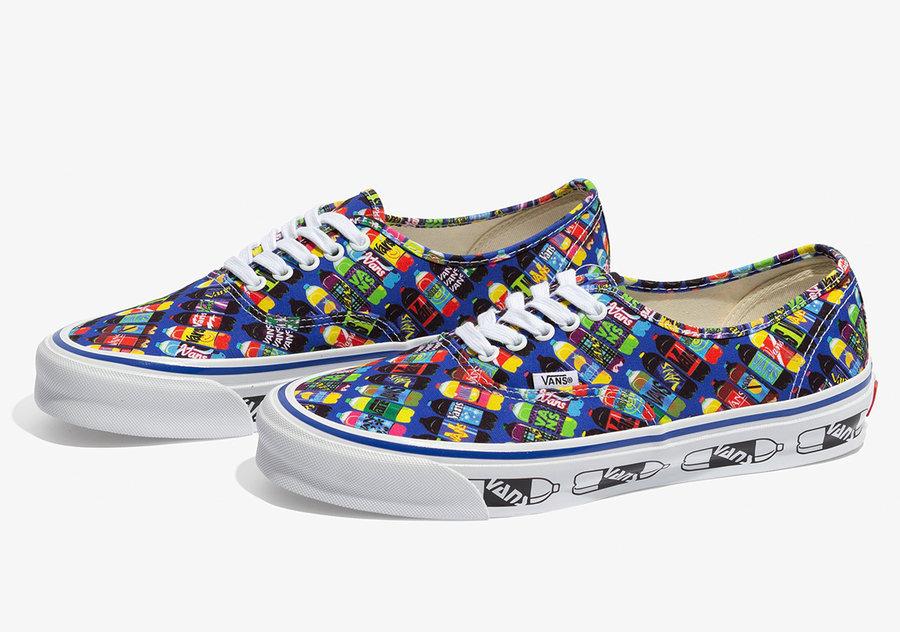 玩味十足的汽水装饰!艺术家联名莆田鞋Fergadelic x Vans 现已发售!