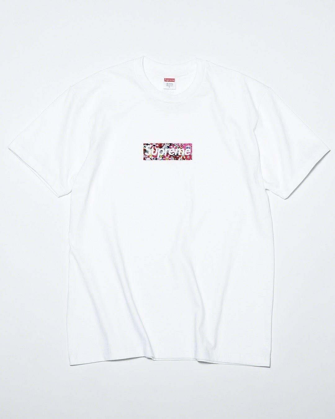 Takashi Murakami,Supreme,Box L  潮流圈最顶级联名!村上隆 x Supreme Bogo Tee 本周发售!