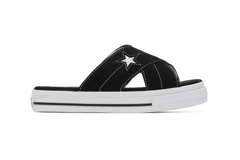 Converse,One Star,Suede Sandal 潮流拖鞋新选择!Converse One Star 拖鞋现已发售!