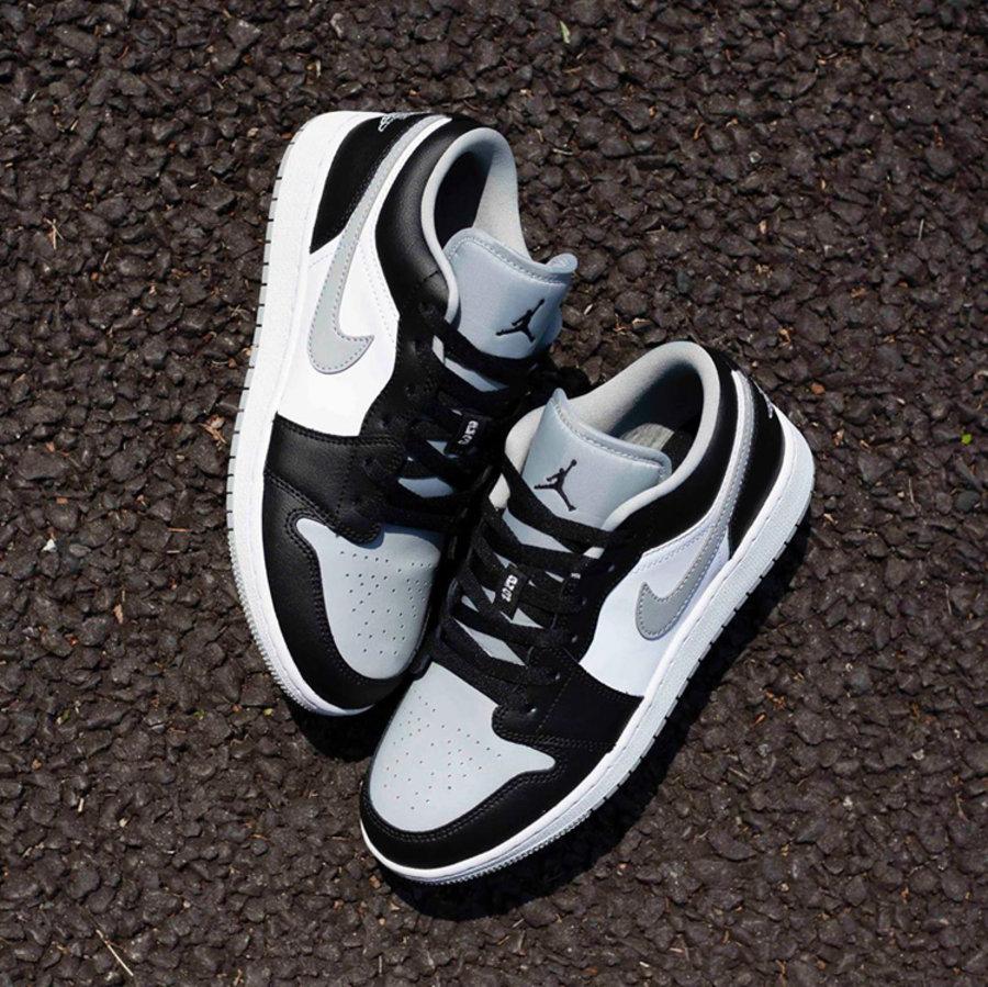 """莆田鞋-Air Jordan 1 Mid """"Light Smoke Grey"""" 货英超下注平台:554724-092 / 554725-092(GS)插图(8)"""