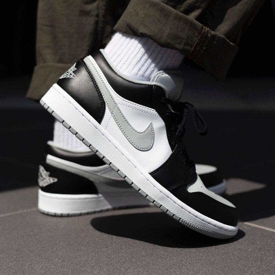 """莆田鞋-Air Jordan 1 Mid """"Light Smoke Grey"""" 货英超下注平台:554724-092 / 554725-092(GS)插图(5)"""