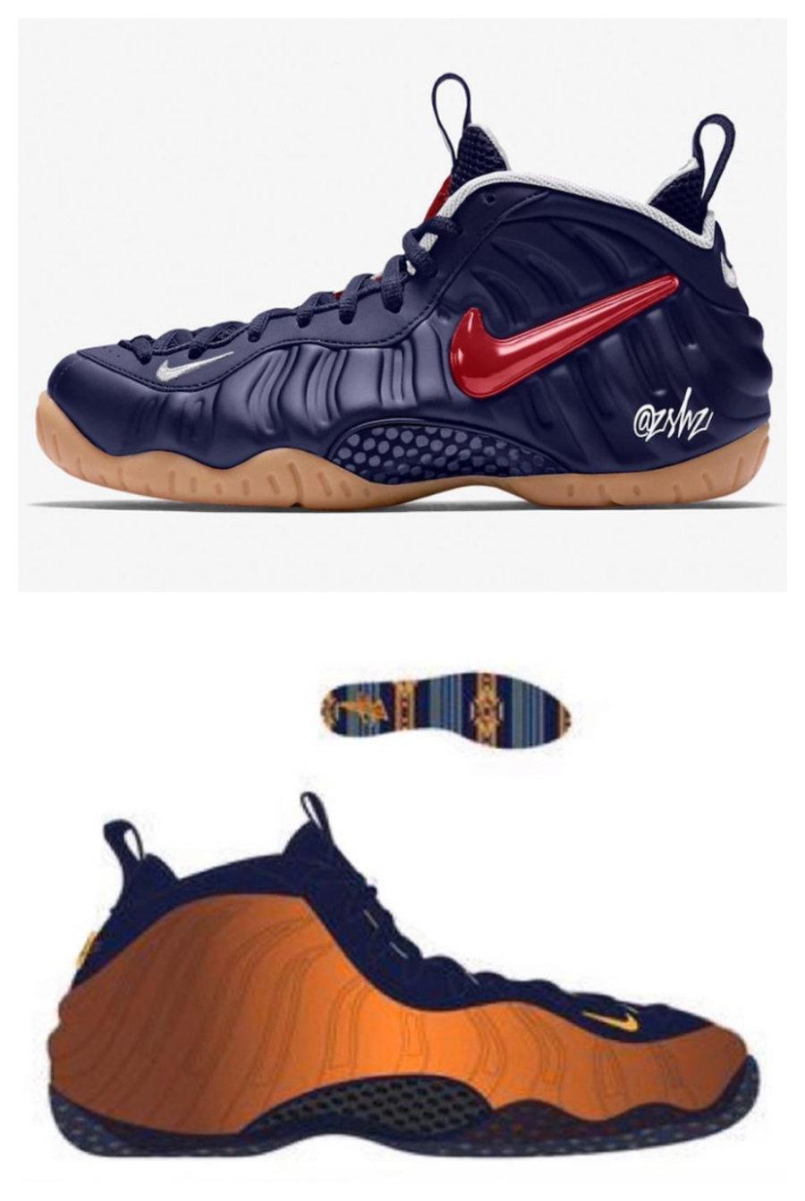 梦之队配色?两款 莆田鞋Nike 喷、泡新品即将发售!