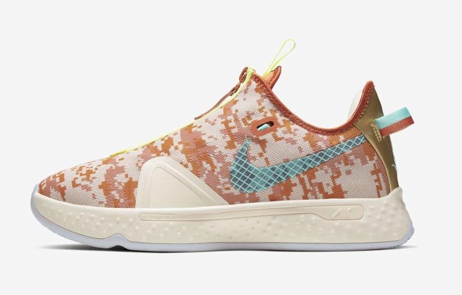 Nike,PG4 GE,Digi-Camo  巨星战靴登陆 NBA 2K!数码迷彩 Nike PG4 GE 明日发售!