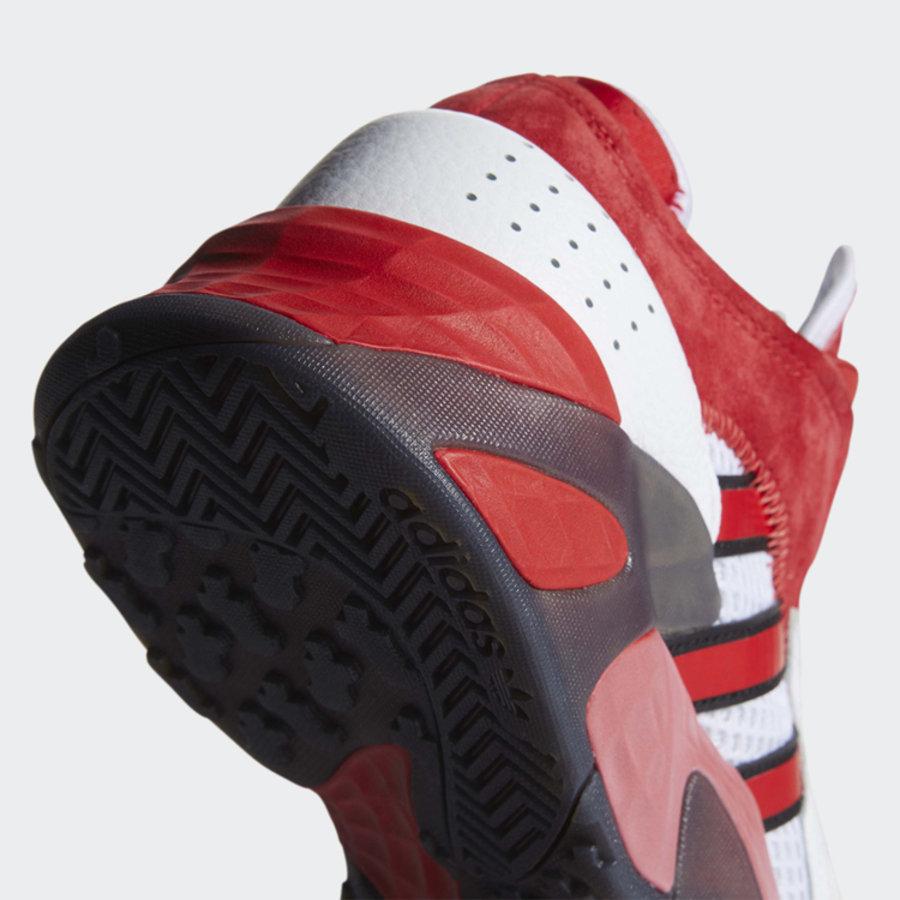adidas,StreetBall 白红渐变配色!兼具颜值脚感的 StreetBall 又有新选择!