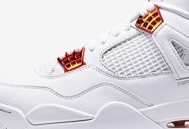 AJ4,Air Jordan 4,CT8527-118,发售  纯白金属 AJ4 套装官网预告!白橙配色下周率先发售!