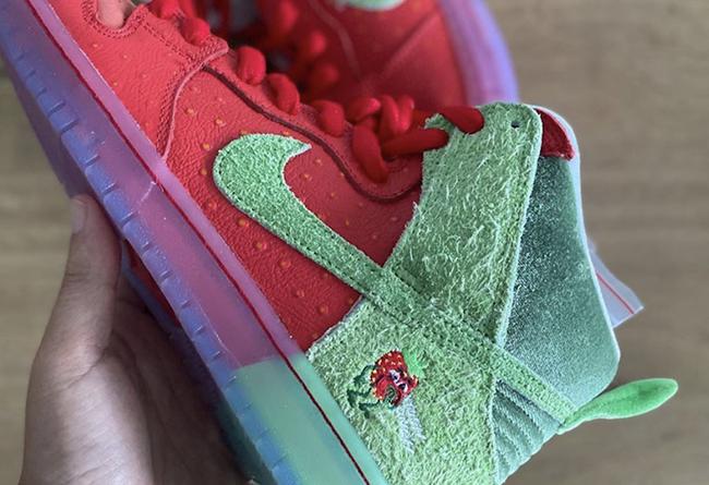 Dunk SB,Nike,發售,CW7093-600  發售推遲!咳嗽草莓 Dunk SB 最新實物曝光!今夏登場!