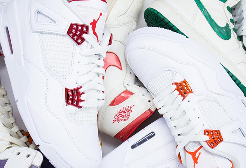 AJ4,Air Jordan 4 Air Jordan 4 终于揭秘了!这四双纯白 AJ4 原来是致敬这个经典系列!