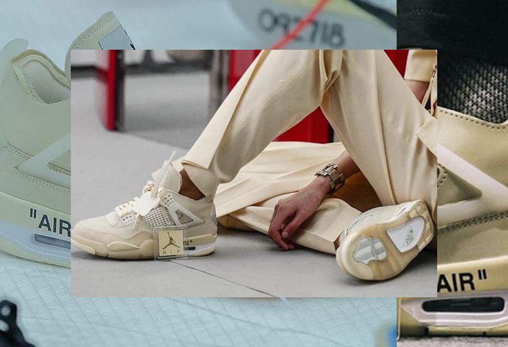 AJ4,Air Jordan 4 Air Jordan 4 別忘了今年的重頭戲!OFF-WHITE x AJ4 全貌首次曝光!