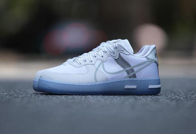 莆田鞋-Nike Air Force 1 React QS 货号:CQ8879-100