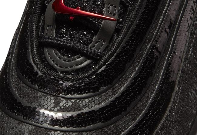 Nike,Air Max 97,发售  BLINGBLING 还有点暗黑妖异!全新 Air Max 97 首次曝光