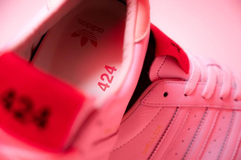 莆田鞋-424 x adidas Shelltoe 货号:FW7624插图(4)