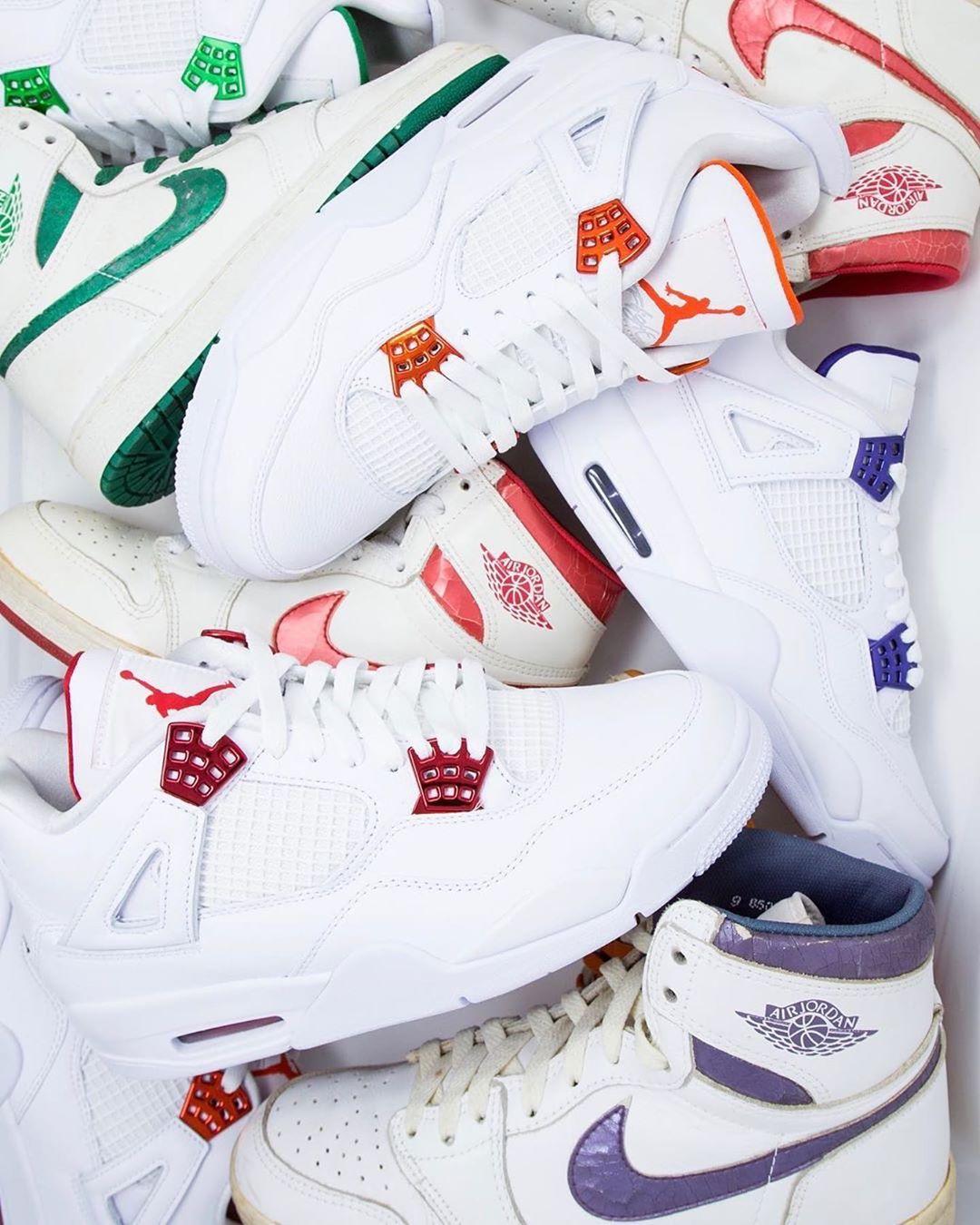 Air Jordan 4,AJ4,Orange Metall  纯白金属 AJ4 套装即将发售!第一款官网链接刚刚上线!