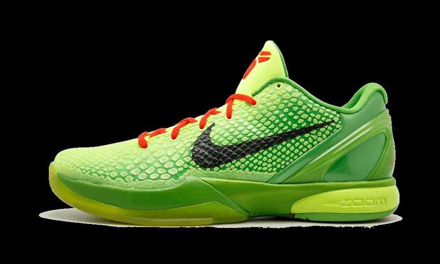 "莆田鞋-Nike Kobe 6 Protro ""Grinch"" 货号:CW2190-300插图(4)"