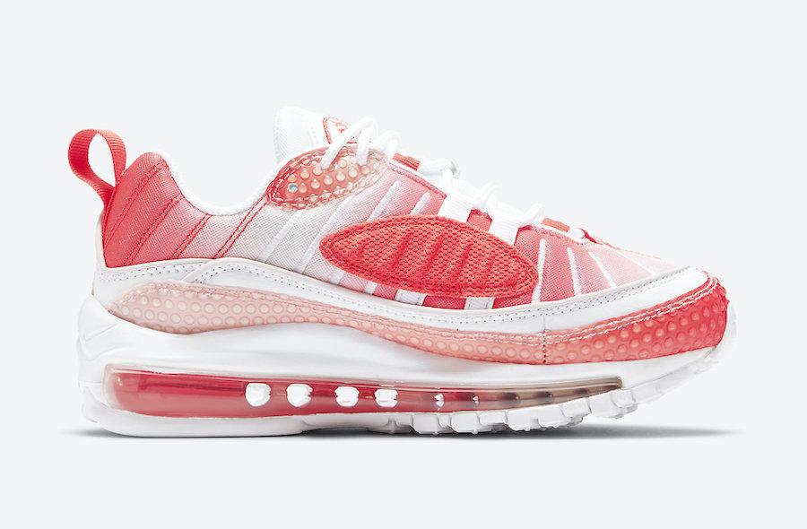Nike,Air Max 98,Bubble Pack,CI 高辨识度的糖果色调!全新 Air Max 98 即将发售!