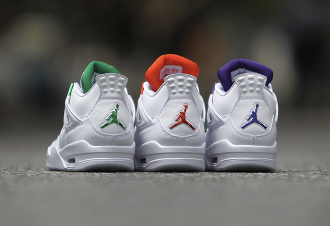 Air Jordan 4,AJ4,发售,CT8527-118  纯白金属 Air Jordan 4 你选哪一款?首款配色下周即将发售!