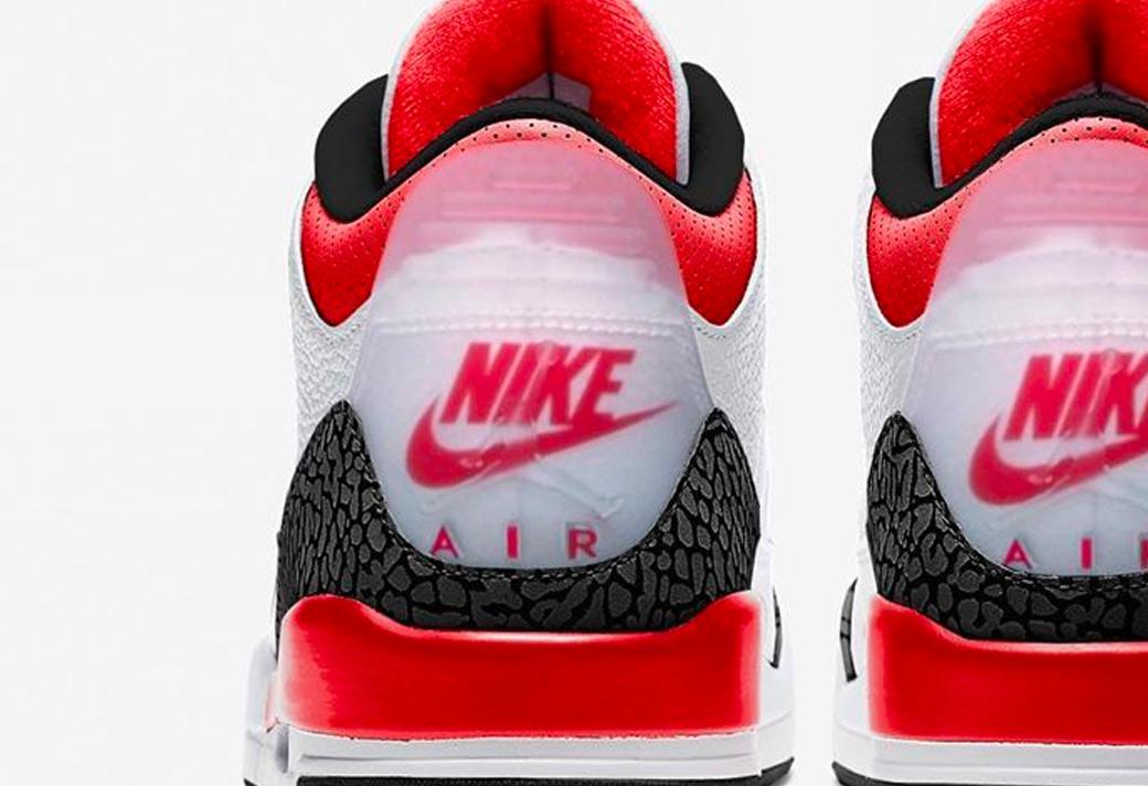 CZ6431-100,AJ3,Air Jordan 3 CZ6431-100 AJ3 火焰红又要来了!后跟有个「前所未有」的新设计!