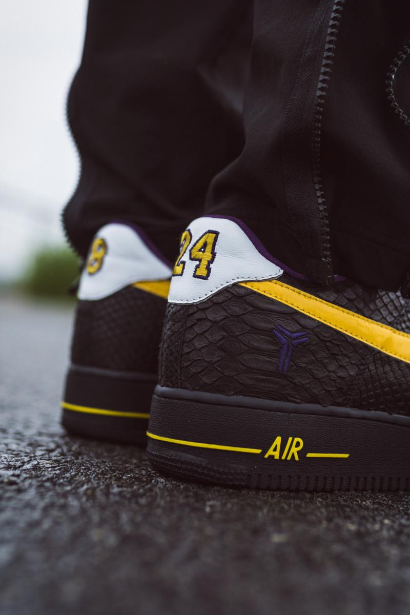 Air Force 1,AF1,Nike,球鞋定制,科比,開  打開鞋盒瞬間淚目!限量 24 雙的科比球鞋搶先開箱!買不到也得看看