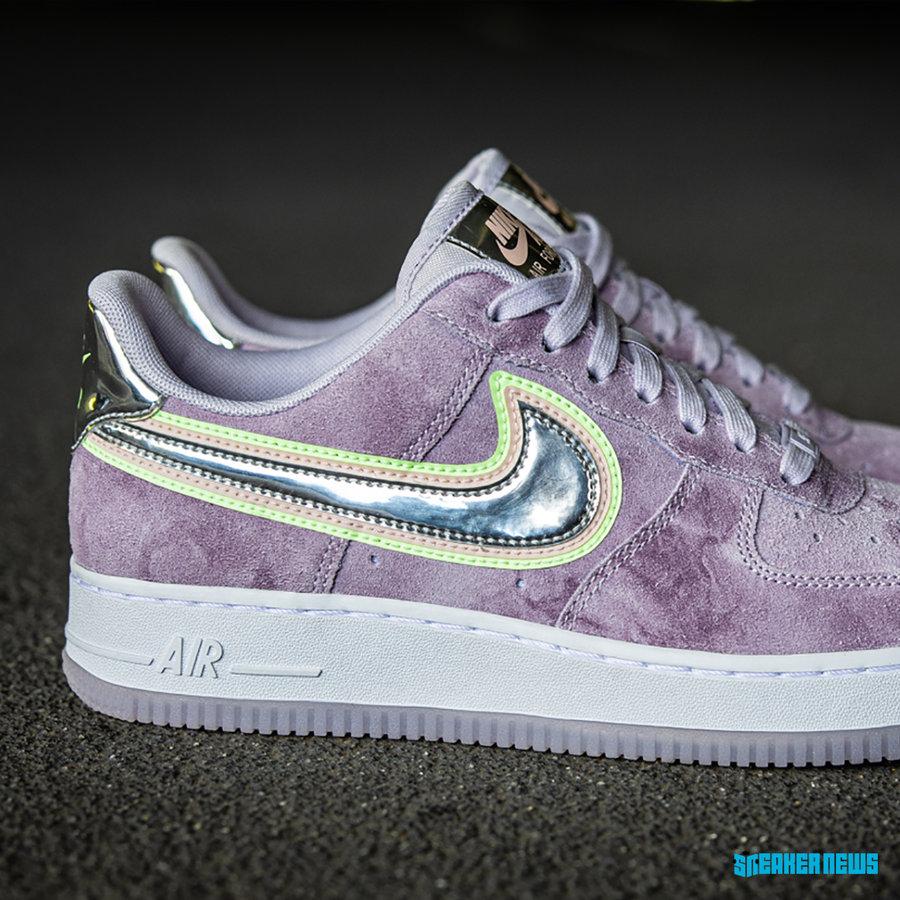 Nike,Air Force 1,P(HER)SPECTIV 3 层 Swoosh Logo 装饰!乳腺癌主题 Air Force 1 即将发售!