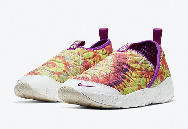 Nike,ACG Moc 3.0,Tie-Dye,CW246  居家休闲两不误!绚烂扎染 ACG 新品即将发售!