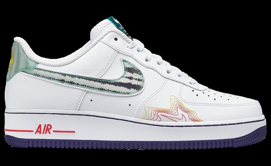 AF1,Air Force 1,Muisc  惊了!这双 Air Force 1 会唱歌...太好看了!