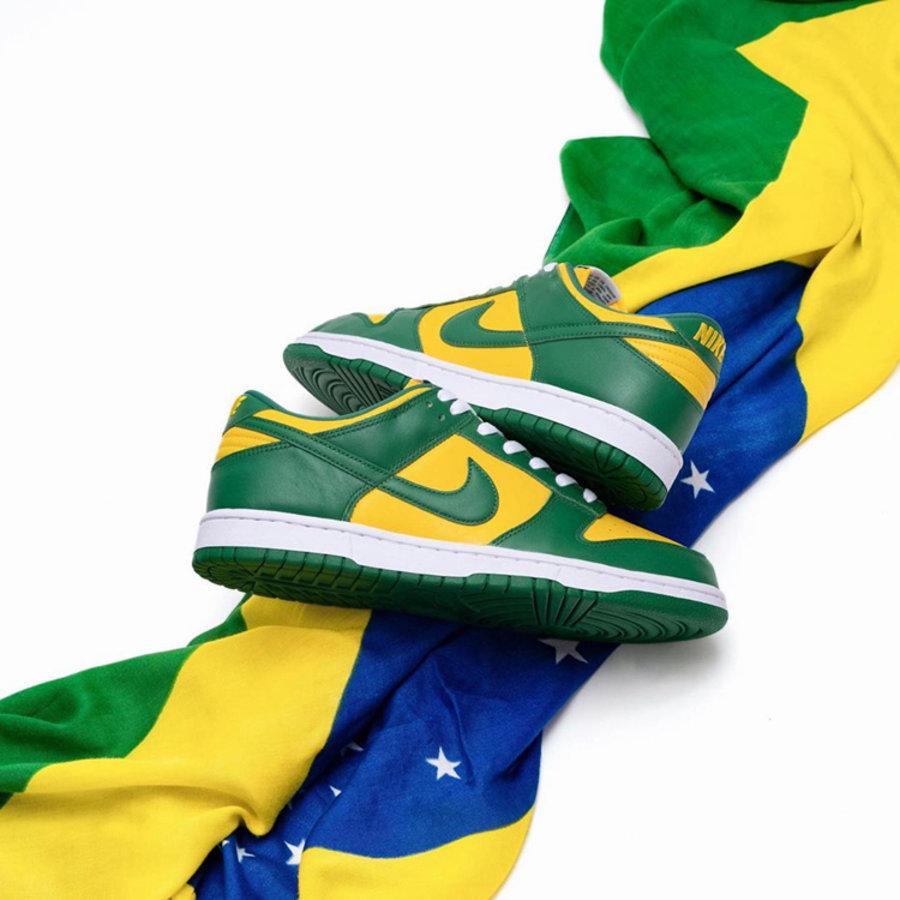 發售提醒  本周新鞋太狠了!新康扣 AJ11,還有市價翻番的巴西 Dunk!