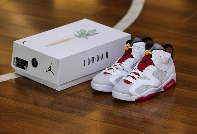 AJ,AJ6,Air Jordan 6,Hare,CT852  兔八哥 AJ6 最新实物美图释出!后天发售别错过!