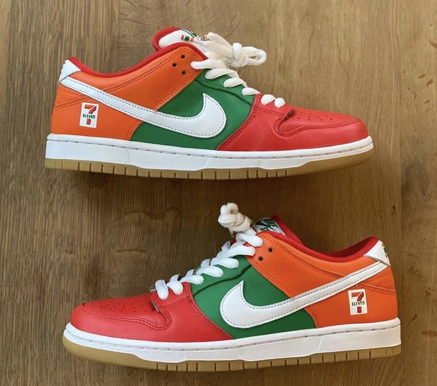 7-Eleven,Nike,SB Dunk Low,7-11  711 便利店 x Dunk SB 發售取消!原因是...