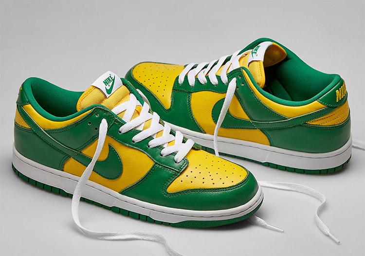Nike,Dunk Low SP,Brazil,CU1727  市價近¥3000!巴西 Dunk Low 官網上架,下周發售!