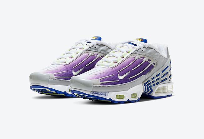 莆田鞋-Nike Air Max Plus 3 GS 货英超下注平台:CD6871-006插图